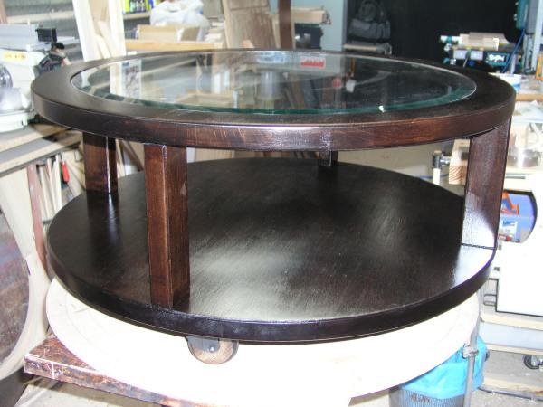 Mesas entre madera - Mesa salon redonda ...