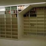 Librería melamina blanca 2