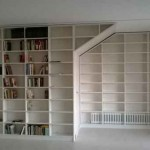 Librería melamina blanca 1