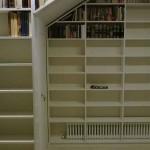 Librería melamina blanca 3