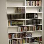 Librería melamina blanca (Dvd´s)
