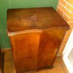 Restauración mueble Singer 1